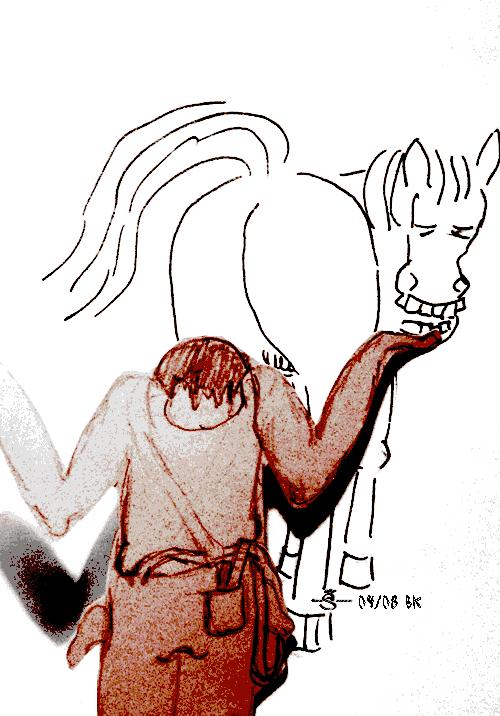Horse Backside 1st halfdecent sketch
