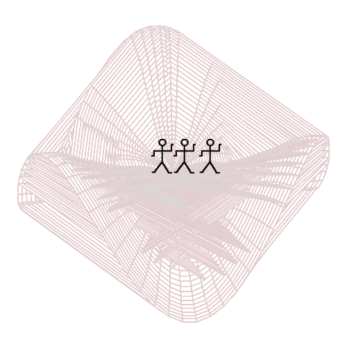 Spirograph 3D nachbearbeitet